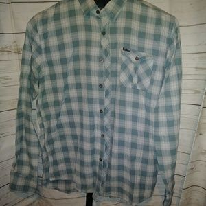 Men's Plaid Flannel - L